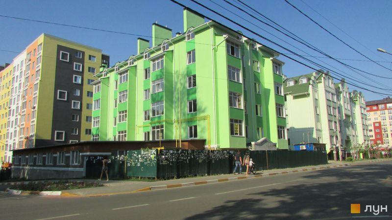Ход строительства ул. Мечникова, 116, Дом, август 2017