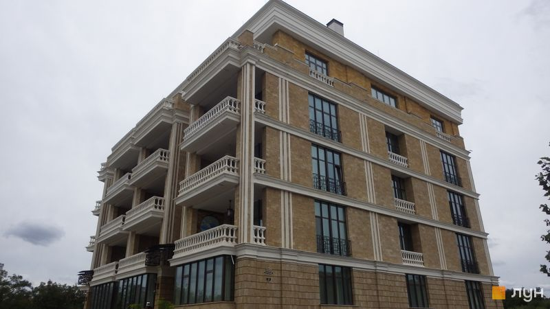 Хід будівництва ЖК Liberty Estate, 1 будинок, серпень 2017