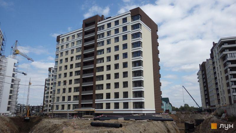 Ход строительства ЖК PARKLAND, 9 дом, август 2017