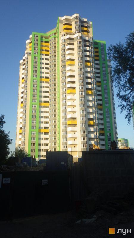 Хід будівництва ЖК Паркова Вежа, Будинок 1, липень 2015