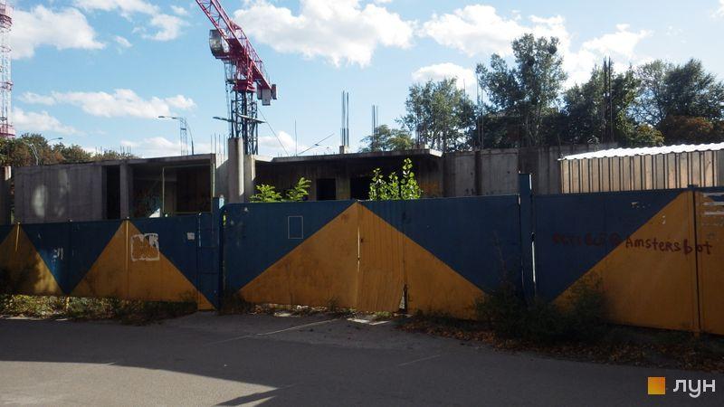 Ход строительства ЖК UNO City House, , сентябрь 2017