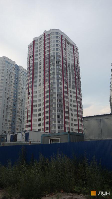 Хід будівництва ЖК Позняки-4а, 2 черга (вул. Олени Пчілки, 4), серпень 2015