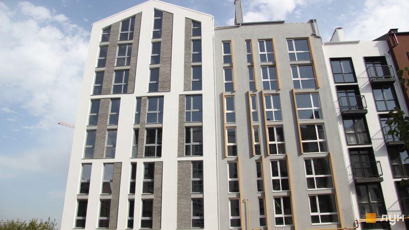 Ход строительства ЖК Белый Шоколад.Center, 8 очередь (ул. Величко, 14а, 14б), сентябрь 2017
