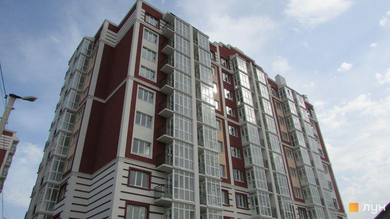 Ход строительства ЖК Покровский, 2 дом (№ 73Д), сентябрь 2017