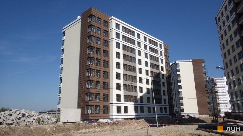 Ход строительства ЖК PARKLAND, 12 дом, сентябрь 2017