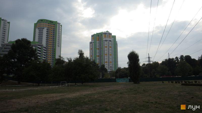 Хід будівництва ЖК Паркова Вежа, Будинок 1, серпень 2015