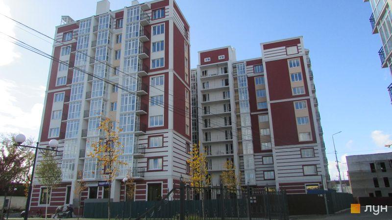 Ход строительства ЖК Покровский, 2 дом (№ 73Д), октябрь 2017