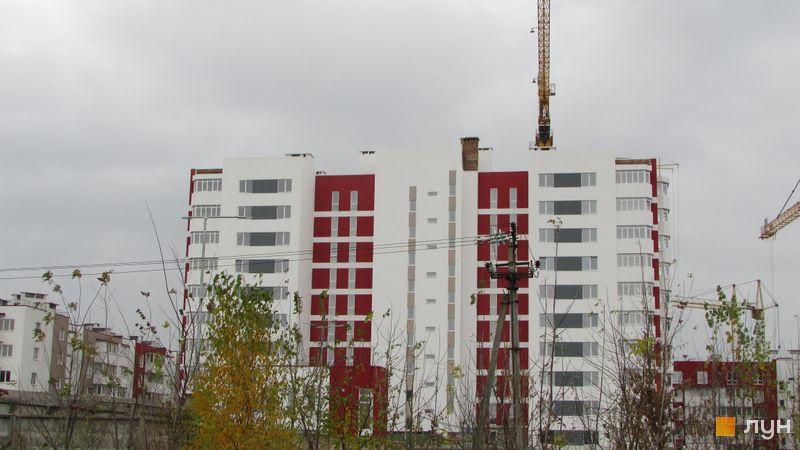 Хід будівництва ЖК Сакура, вул. Єдності, 4, жовтень 2017