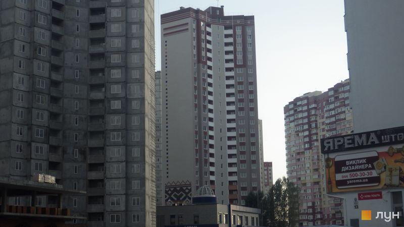 Хід будівництва ЖМ Патріотика, ЖБ Поділля (№2), вересень 2015