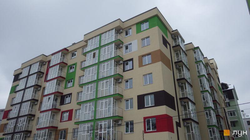 Ход строительства ЖК Власна Квартира, пер. Московский, 2ж, ноябрь 2017