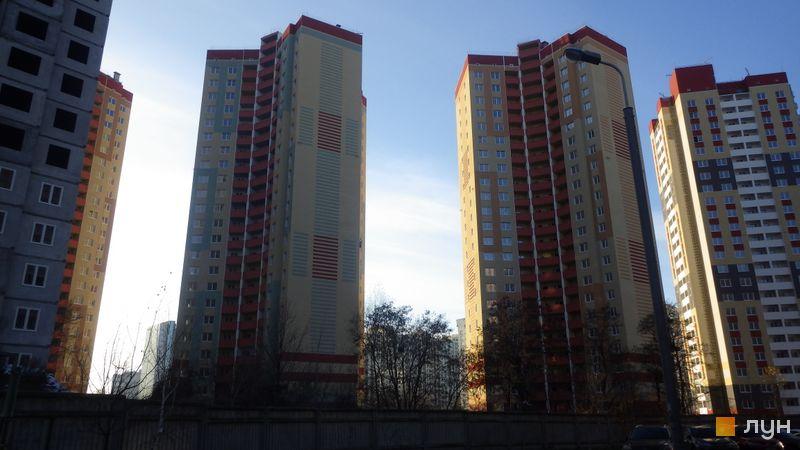 Хід будівництва ЖК Еврика, 10-11 будинки, листопад 2017
