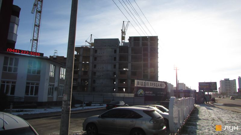 Ход строительства ЖК Квартал Крюковщина, 3 дом, ноябрь 2017