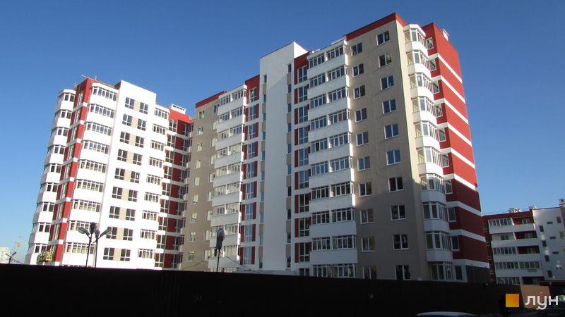 Хід будівництва ЖК Сакура, вул. Єдності, 4, листопад 2017