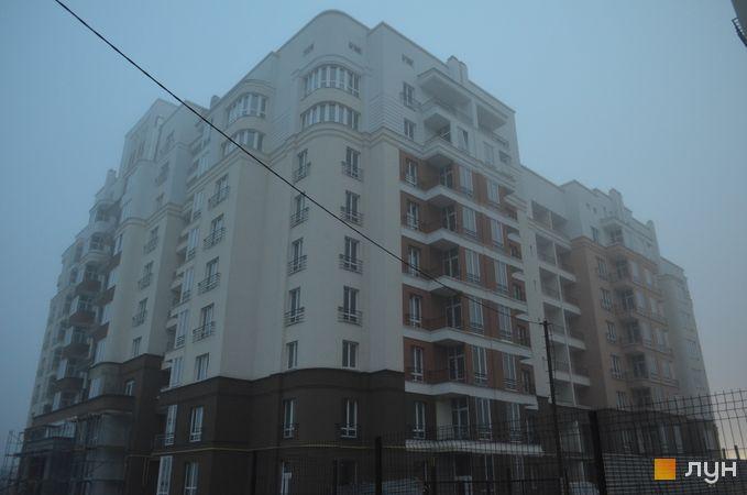 Хід будівництва ЖК на Стрийській, 2 будинок, листопад 2017