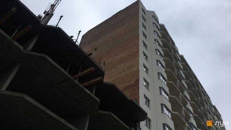 Ход строительства ЖК Вернисаж, 4 дом (секция 3), ноябрь 2017