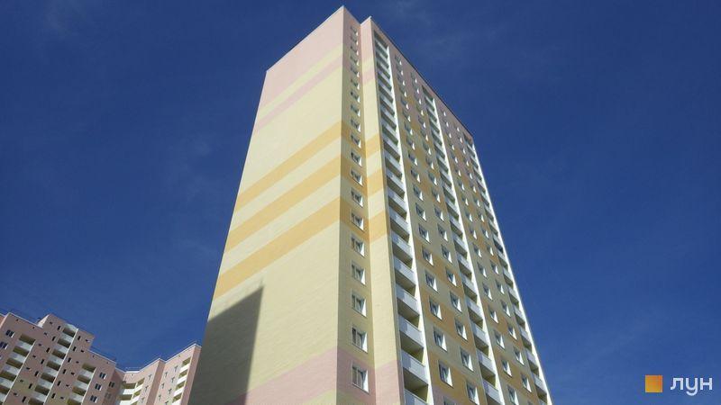 Хід будівництва ЖК Милославичі, 3 черга (будинок 14), жовтень 2015