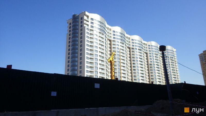 Ход строительства ЖК Park Avenue VIP, 3 дом, октябрь 2015