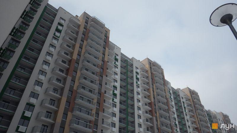 Ход строительства Місто Квітів. Парковий квартал, 1 дом (ул. Тираспольская, 60), декабрь 2017