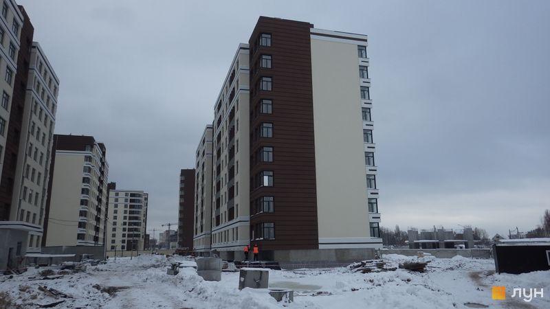 Ход строительства ЖК PARKLAND, 13 дом, декабрь 2017