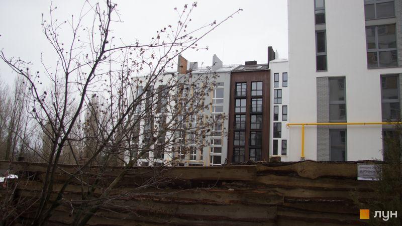 Ход строительства ЖК Белый Шоколад.Center, 9 очередь (ул. Величко, 11а), декабрь 2017