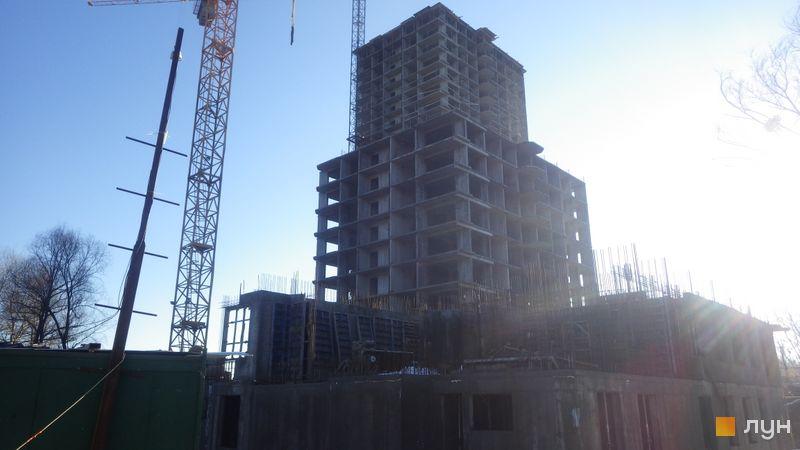 Хід будівництва ЖК Orange City, 1 будинок (секція 2), грудень 2017