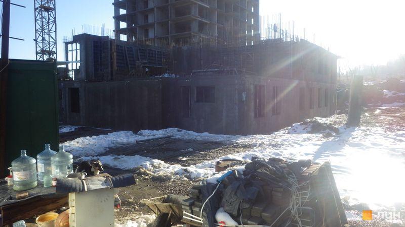 Хід будівництва ЖК Orange City, 1 будинок (секція 1), грудень 2017