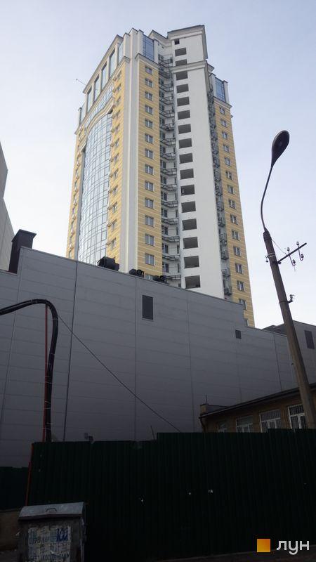 Хід будівництва ЖК Smart Plaza Polytech, 2 будинок (просп. Перемоги, 26а), грудень 2017