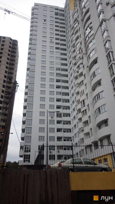 Хід будівництва ЖК Східна Брама, 2 будинок (секція 4), грудень 2017