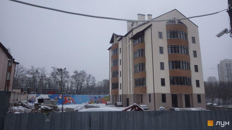 Ход строительства ЖК Комфорт Сити, 2 дом, январь 2018