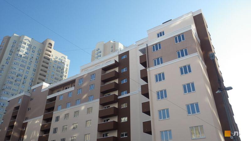 Хід будівництва вул. Драгоманова, 38, Будинок, січень 2018