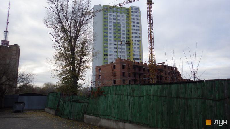 Хід будівництва ЖК Герцен Парк, Будинок 1, листопад 2015
