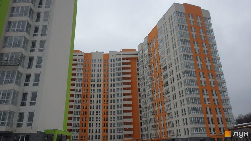 Хід будівництва ЖК Нивки-Парк, Будинок 1, лютий 2018