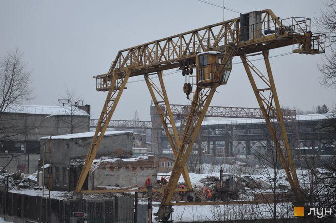 Ход строительства ЖК Парус City, , февраль 2018