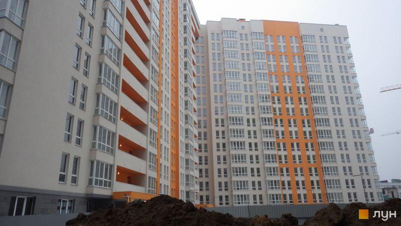 Хід будівництва ЖК Нивки-Парк, Будинок 1, березень 2018