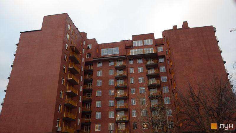 Хід будівництва ЖК Бруклін, Будинок 1, грудень 2015