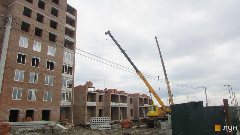 Ход строительства ЖК Millennium State, 3 дом (секция А), март 2018