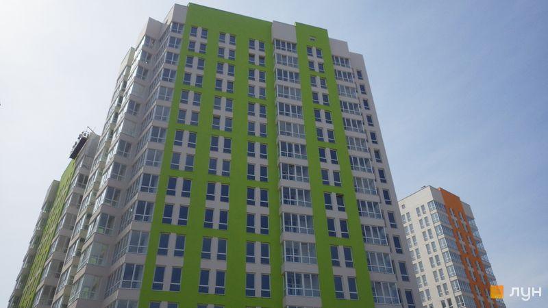 Хід будівництва ЖК Нивки-Парк, Будинок 2, квітень 2018