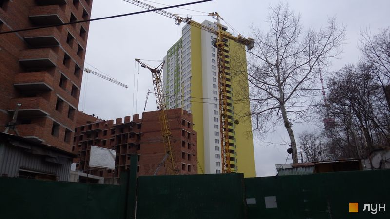 Хід будівництва ЖК Герцен Парк, Будинок 1, грудень 2015