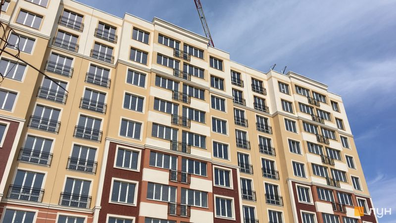Ход строительства ЖК Новые Теремки, 1 очередь (дома 2-5), апрель 2018