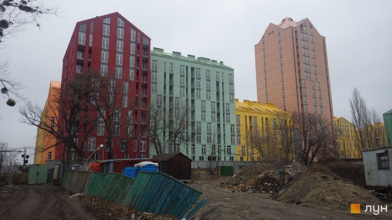 Хід будівництва ЖК Комфорт Таун, 5 черга (будинок 15), грудень 2015