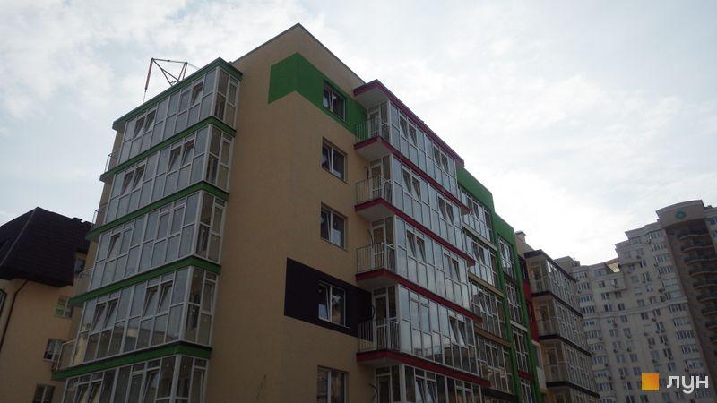 Ход строительства ЖК Власна Квартира, ул. Вильямса, 8а, апрель 2018