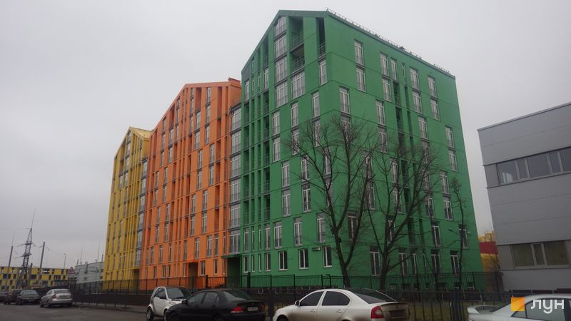 Хід будівництва ЖК Комфорт Таун, 5 черга (будинок 17), грудень 2015