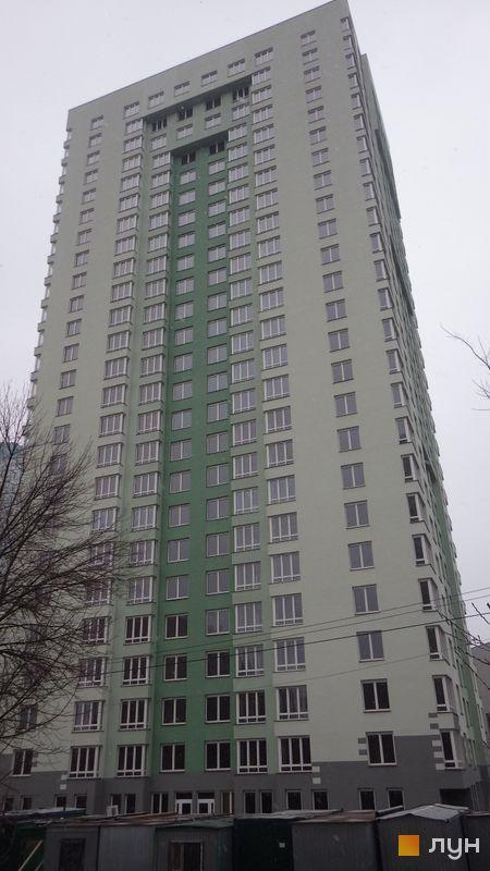 Хід будівництва вул. Феодосійська, 2 (є, ж, з, і), вул. Феодосіївська, 2л, грудень 2015