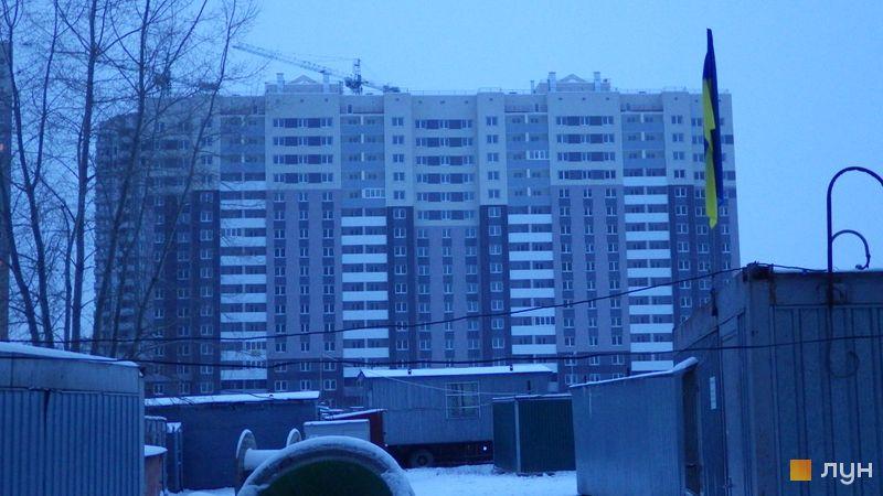Ход строительства ЖК Выгуровщина-20, 5 дом, январь 2016