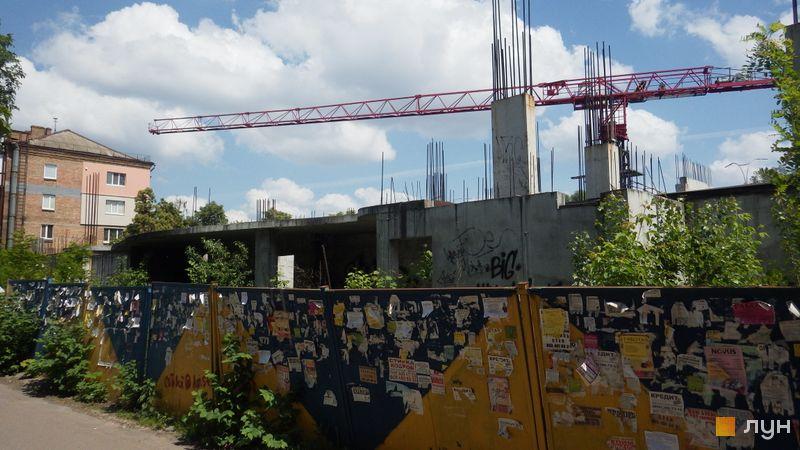Ход строительства ЖК UNO City House, , май 2018