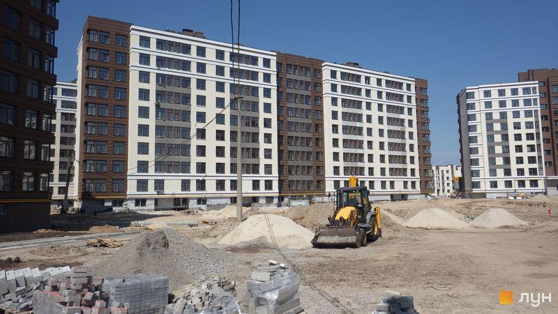 Ход строительства ЖК PARKLAND, 14 дом, май 2018