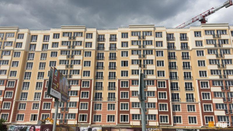Ход строительства ЖК Новые Теремки, 1 очередь (дома 2-5), июнь 2018