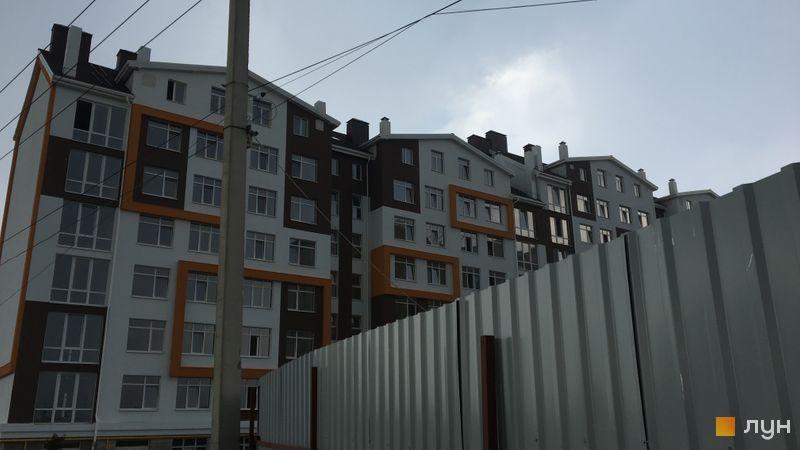Ход строительства ЖК Orange Park, ул. Одесская, 23в (секции 1F, 1G), июнь 2018