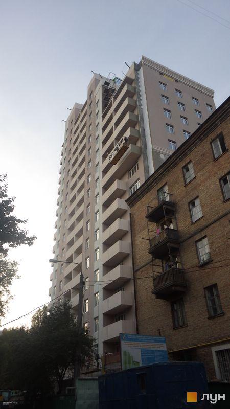 Ход строительства ул. Гарматная, 20, 1 дом, сентябрь 2014