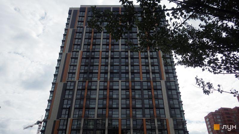 Ход строительства ЖК Французский квартал 2, 2 дом (ул. Предславинская, 53), июнь 2018
